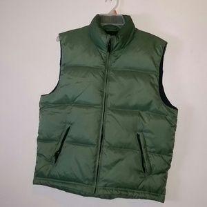 J.crew factory down vest men sizeM